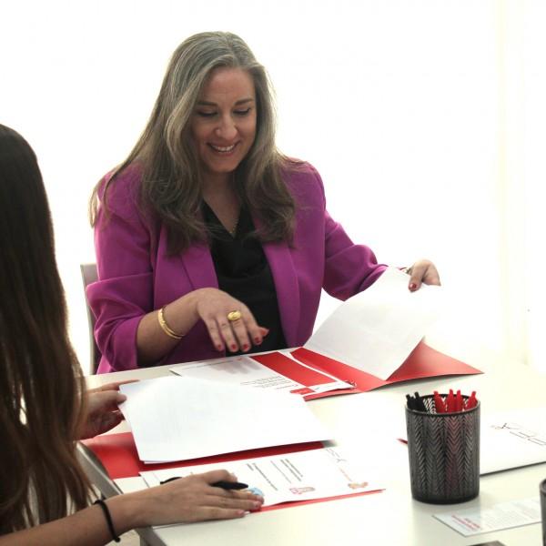 Bibiana Díaz, experta en protocolo
